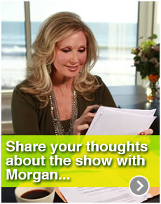 Share your thoughts about the show with Morgan